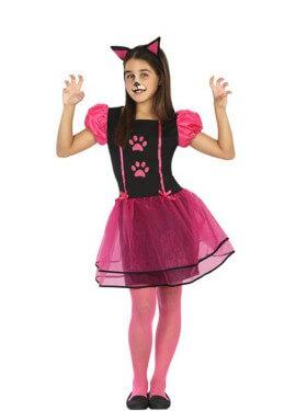 Disfraz de Gatita Huellas para niña