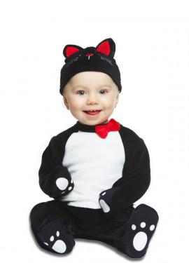 Disfraz de Gatito Negro para bebé
