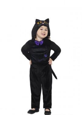 disfraz de gato con pajarita para nios