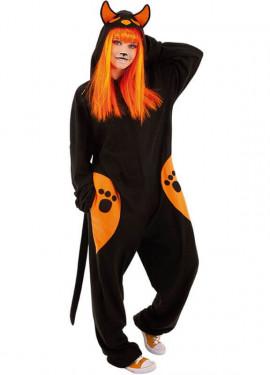 Disfraz de Gato Negro para adultos