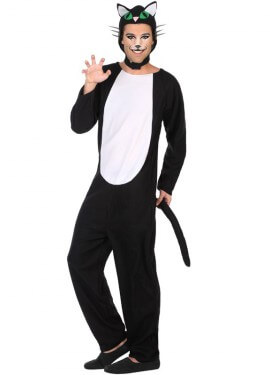 d9e1f9186 Disfraz de Gato Negro para hombre