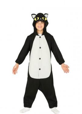 96d0f73fc Disfraz de Gato Negro para niños
