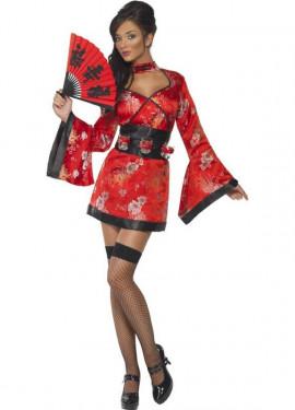 Déguisement Geisha du Vodka Sexy pour femme