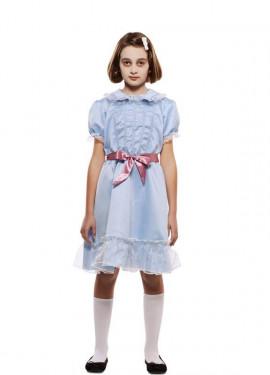 Disfraz de Gemela Fantasma para niña