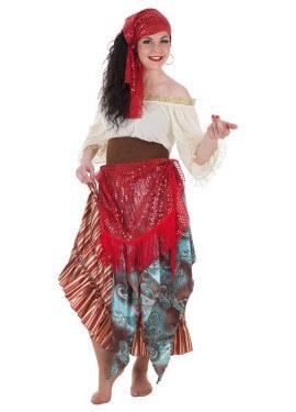 Disfraz de Gitana Zíngara para mujer