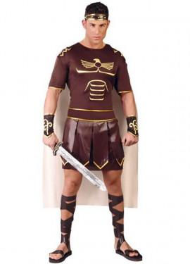 Disfraz de Gladius marrón para hombre