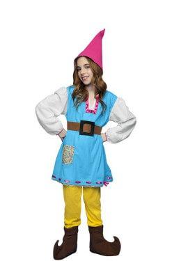 Disfraz de Gnoma para niñas de 5 a 6 años