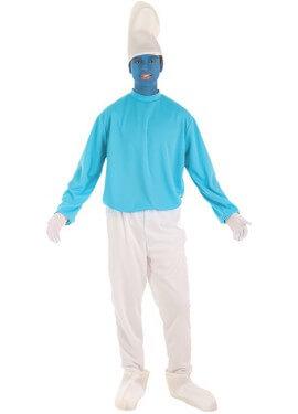 Disfraz de Gnomo Azul para hombre