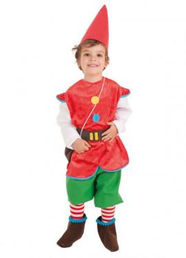 Disfraz de Gnomo para niño