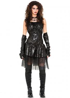 Déguisement de Fille Gothique Noire pour femme