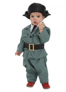 Disfraz de Guardia Civil para bebé