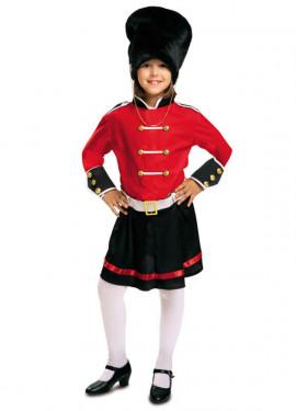 Disfraz de Guardia Inglesa para niña