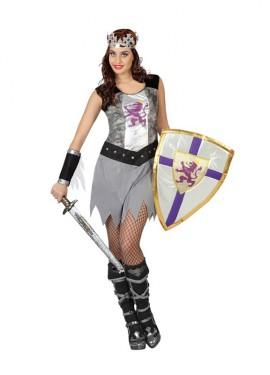 Disfraz de Guerrera medieval para mujeres