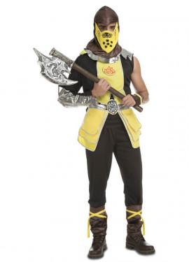 Disfraz de Guerrero Andre Fantasía para hombre