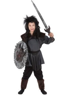 Disfraz de Guerrero Bárbaro para niño