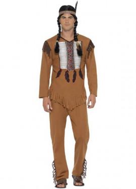Déguisement de Guerrier Indien Américain pour homme