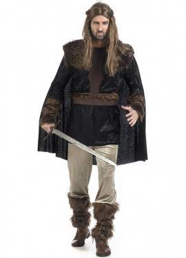 Disfraz de Guerrero Medieval Niels para hombre