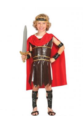 Costume di un guerriero romano per un bambino