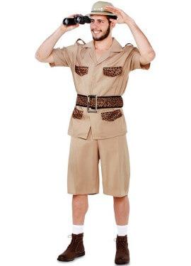 Disfraz de Guía de Safari para hombre