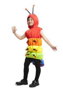 Disfraz de Gusano para niños