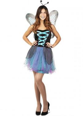 Costume da fata blu per una donna