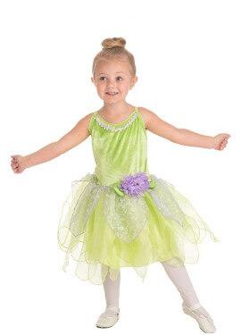 Disfraz de Hada Campanilla para niña