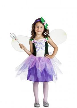 Disfraz de Hada flores para niña