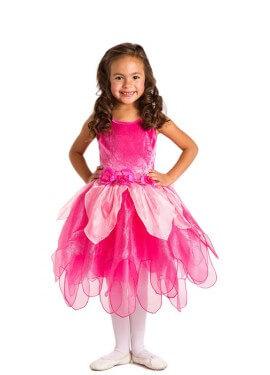 Costume Fata Tulipano fucsia per bambina