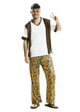 Disfraz de Happy Hippie para hombre