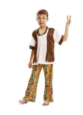 Disfraz de Happy Hippie para niño