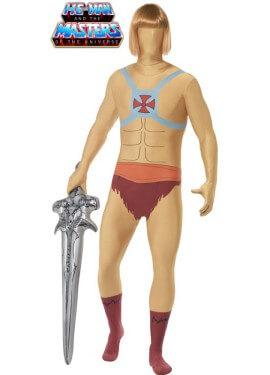 Disfraz de He-Man Segunda piel para hombre