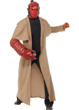 Disfraz de Hellboy con Licencia para hombres