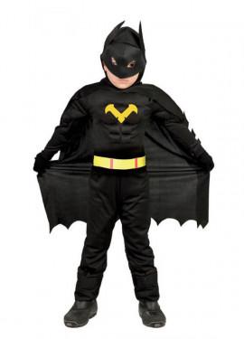 Disfraz de Héroe Murciélago para niño