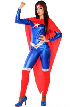 Disfraz de Heroína Americana para mujer