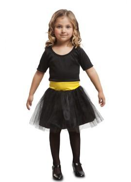 Disfraz de Heroína Negra para niña