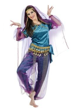 Disfraz de Hindú Bollywood Kajol para mujer