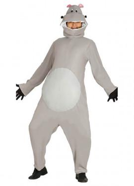Disfraz de Hipopótamo para adultos