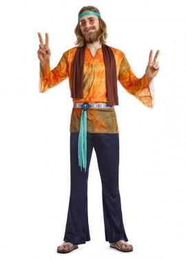 Disfraz de Hippie California para hombre