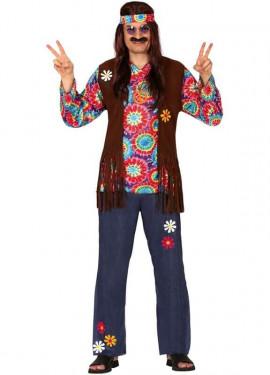Déguisement Hippie avec Fleurs pour Homme