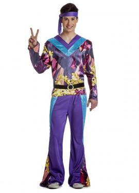 Disfraz de Hippie Disco para hombre