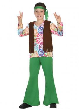 Disfraz de Hippie para niño