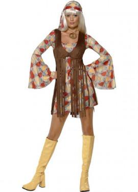 Disfraz de Hippy Cool para Mujer