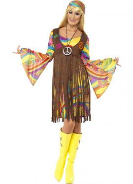 Déguisement Hippie Franges pour Femme plusieurs tailles
