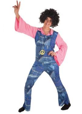 Disfraz de Hippy Vaquero para hombre