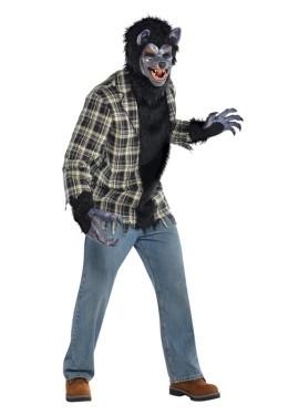 Disfraz de Hombre lobo rabioso para hombres para Halloween