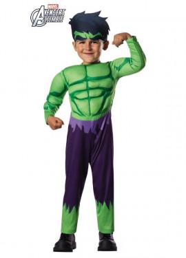 Disfraz de Hulk Deluxe para bebé
