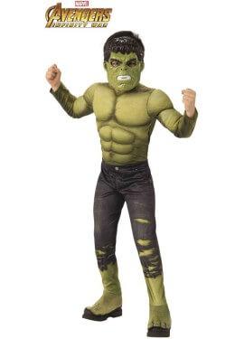 Disfraz de Hulk Premium de los Vengadores para niño