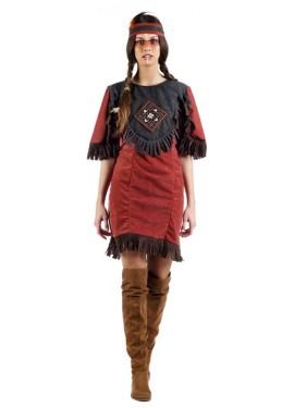 Disfraz de India Denale para mujer