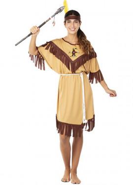 Disfraz de India Tótem para mujer