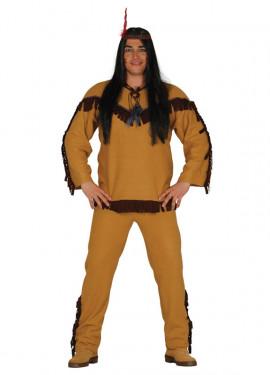 Disfraz de Indio marrón